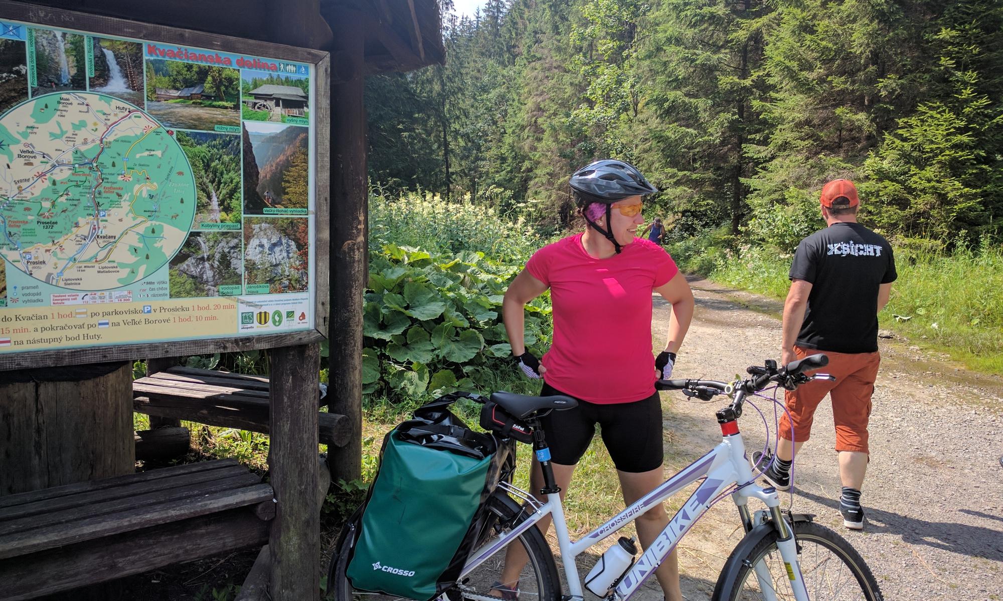 Wjazd do doliny od strony Hut