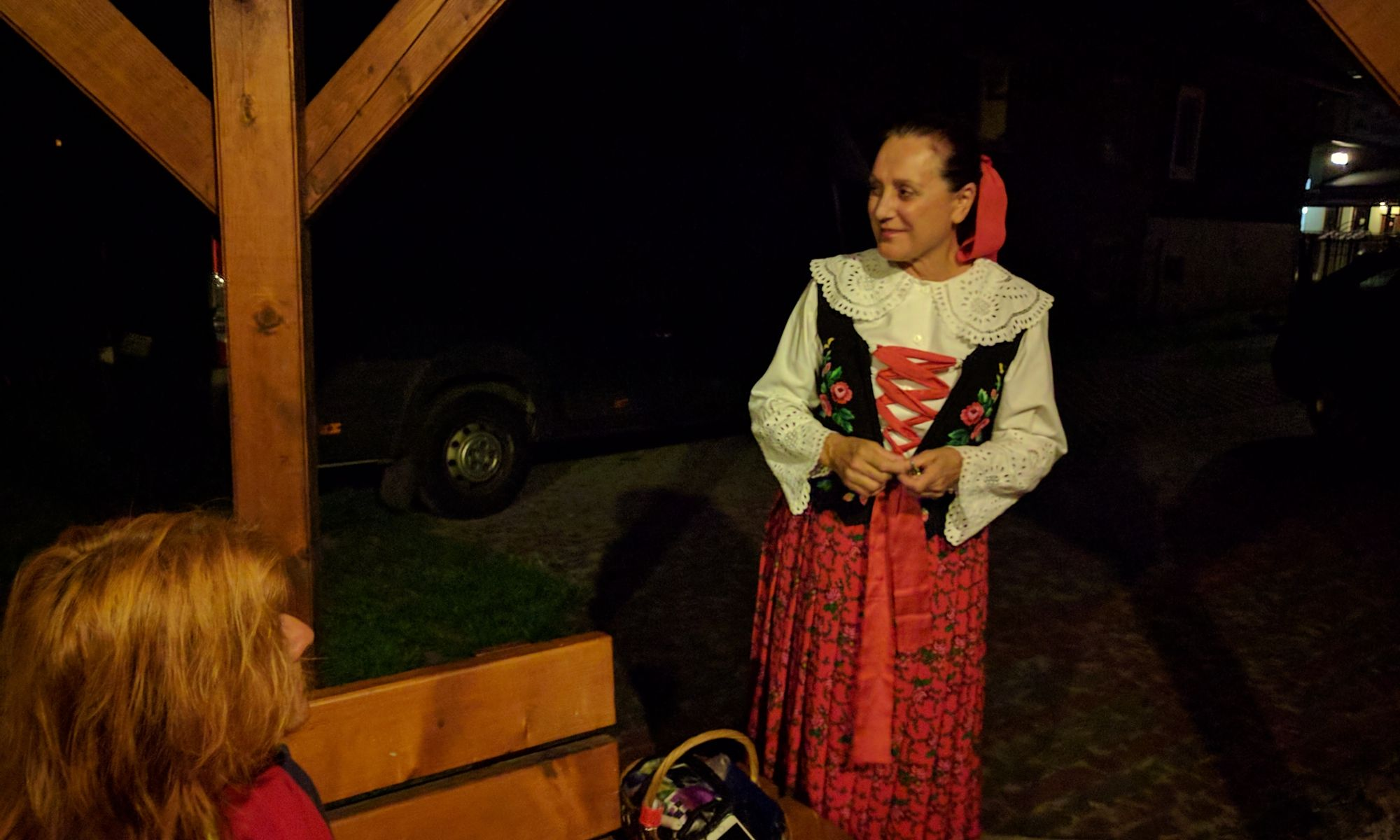 Janka, gospodyni w Objekt Niżna