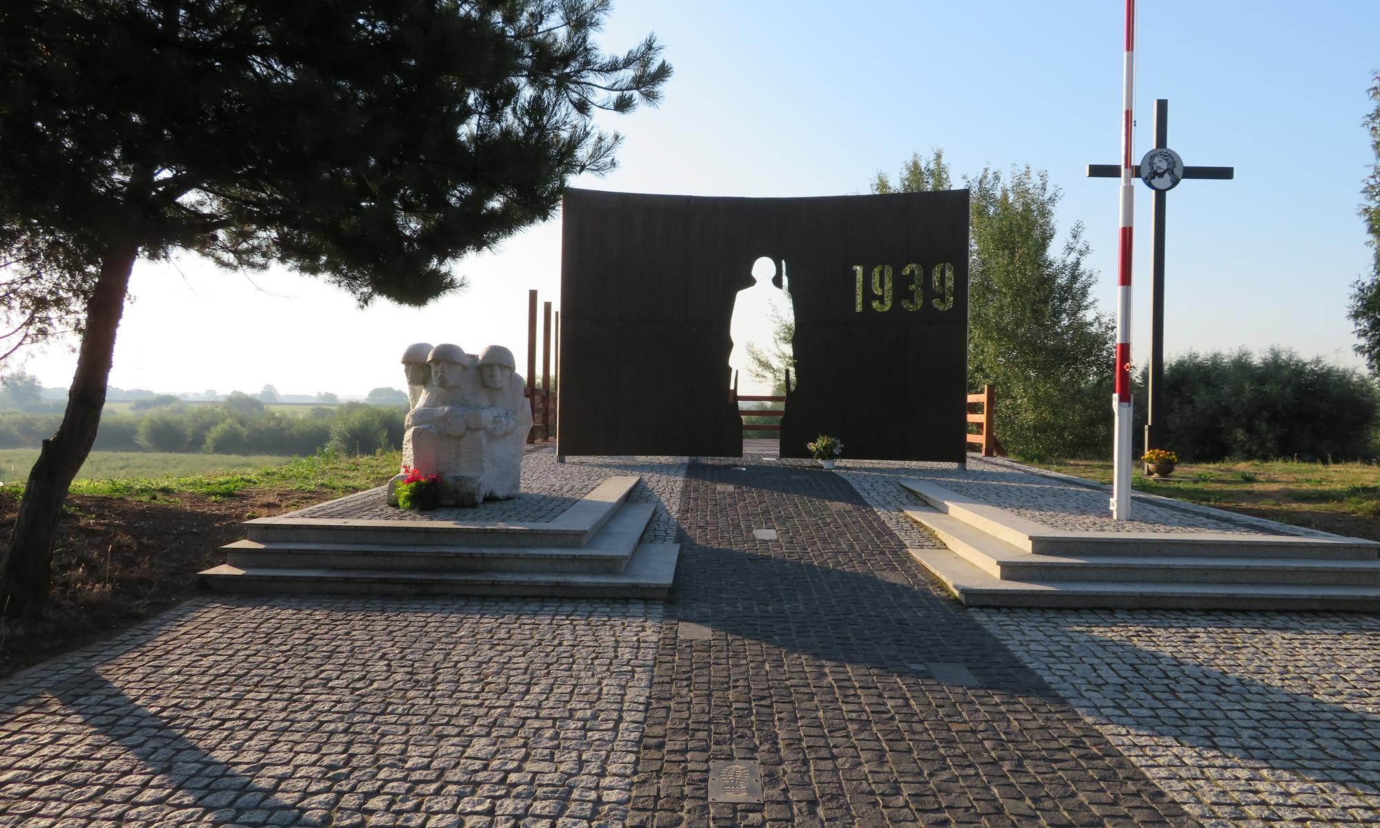 Pomnik w Biskupicach Radłowskich