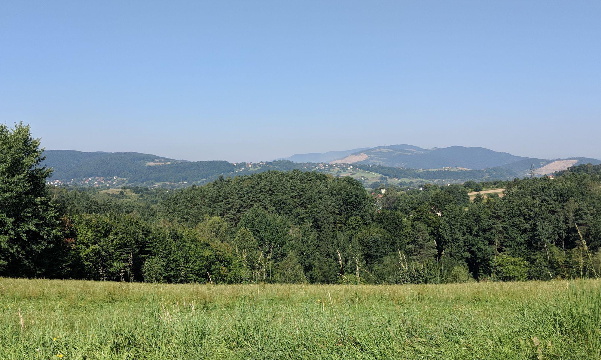 Widoczki Ciężkowicko-Rożnowskiego Parku Krajobrazowego